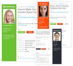 customized invitations customized webinar invitations clickmeeting