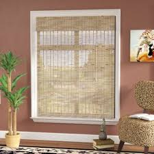Roman Shades Over Wood Blinds Wood Blinds U0026 Shades You U0027ll Love Wayfair