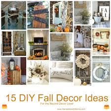 Fall Decorating Ideas For The Home Married Life With The Mrs Cute Diy Fall Decor Ideas