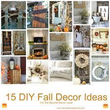 Home Fall Decor Married Life With The Mrs Cute Diy Fall Decor Ideas