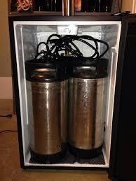 Building A Kegerator Dual Corny Keg Mini Fridge Kegerator Build Help Home Brew Forums