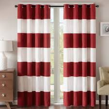 Brown And Ivory Curtains Buy Striped Curtains From Bed Bath U0026 Beyond