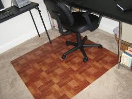 office floor mats desk rug amb24010 anji natural bamboo desk chair