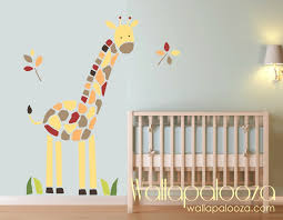 Nursery Wall Decorations Removable Stickers Giraffe Wall Decal Nursery Wall Giraffe Wall