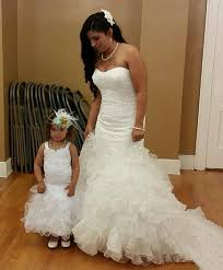 wedding dresses for and baby