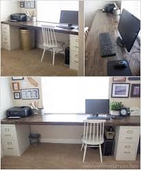 Building Wooden Computer Desk by Best 25 Diy Computer Desk Ideas On Pinterest Computer Rooms