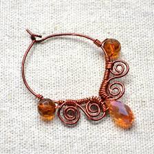 wire earrings wire earrings gallery craftgawker
