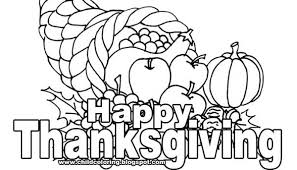 happy thanksgiving clipart black and white 4 clip