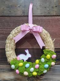 easter wreath easter wreath easy diy think crafts by createforless