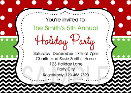 christmas party invitation template cimvitation