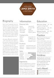 graduate student resume template creative resume templates