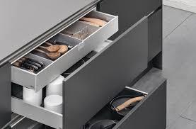 tiroir interieur cuisine l aménagement intérieur cuisine par siematic personnalisé innovant