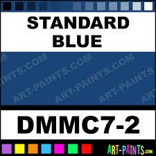 standard blue metal craft enamel paints dmmc7 2 standard blue