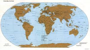 Peters Projection Map Map Projection U2013 Propel Steps