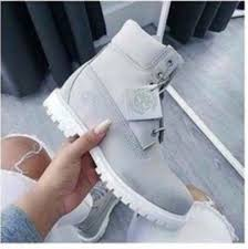 shoes timberlands boots shoes winter grey ankle boots grey