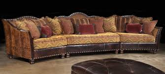 High End Sectional Sofa 01 Western Furniture Custom Sectional Sofa Chairs Hair Hide Ottoman