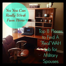 so you want to work from home top 8 places for military spouses