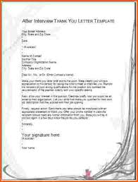 collection of solutions thank you letter for interview template