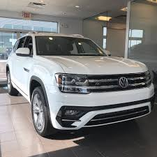 atlas volkswagen white our first 2018 volkswagen atlas r line has arrived and it looks