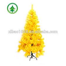 180cm yellow artificial pine tree sale