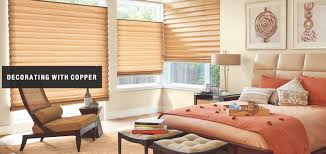 Copper Decorations Home Decorating With Copper Home Touch Window Fashions Salt Lake City