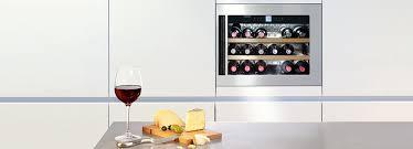 Wine Glass Storage Cabinet by Built In Wine Cabinets Liebherr
