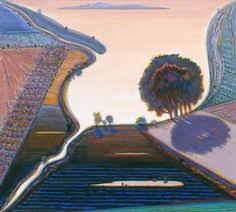 Wayne Thiebaud Landscapes by Wayne Thiebaud Wayne Thiebaud Museums And Canvases