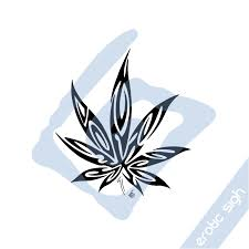 tribal marijuana v3 by sigh on deviantart