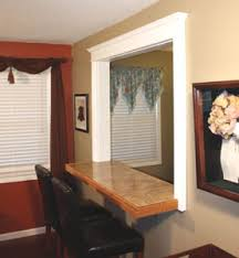 Kitchen Pass Through Window by How To Build A Bar Pass Through Extreme How To