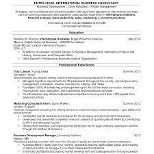 resume sles for college students internship abroad college student resume exle cv resume ideas