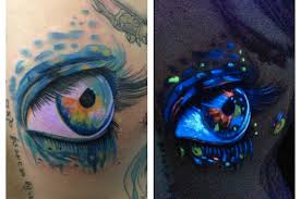 black light tattoos get noticed in the club gothic life