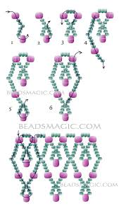 necklace beaded pattern images Free pattern for necklace dita beadwork pinterest beads jpg