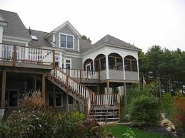 exterior design and decks exterior design beautiful rustic exterior with deck stairs and