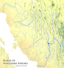 Sinaloa Mexico Map List Of Rivers In California For Alluring Rivers Mexico Map