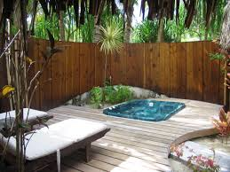 ideas for small backyards small backyard jacuzzi ideas home outdoor decoration