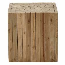 bout de canape bout de canapé en bois l 35 cm maisons du monde