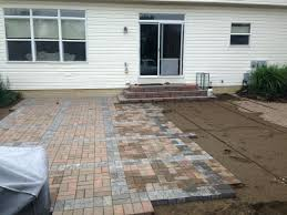 Installing Patio Pavers On Sand How To Install Patio Pavers Ation Concrete With Mortar Steps