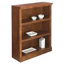 amazon com realspace r premium bookcase 3 shelf 44 1 8in h x