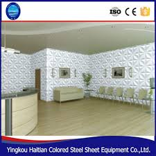 Wall Covering Panels 3d board lightweight 3d pvc bathroom wall covering panels cheap