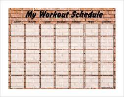 weekly schedule template pdf sample weekend schedule 6 documents