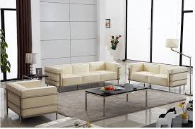 sofa lc3 u best home furniture with leather upholstered cushions le