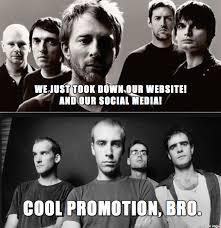 Radiohead Meme - radiohead meets fugazi meme on imgur