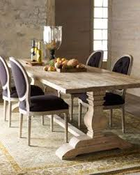 trestle dining table set favorite farmhouse trestle tables progress on our kitchen