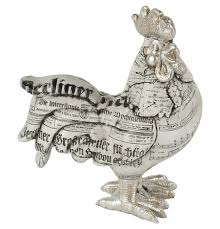 rocking rooster ornament spw005