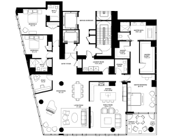 1 Bedroom Condo Floor Plans by 4 E Elm Floor Plans Chicago Il Luxury Condos