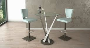 Contemporary Bar Table Elite Modern Crystal Pub Table 394p Ambiente Modern Furniture