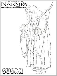 susan chronicles narnia coloring pages realistic coloring pages