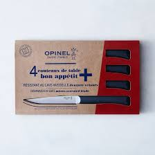 opinel everyday table knives set of 4 on food52