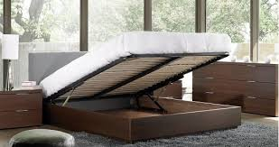 Platform Bed With Storage Underneath Platform Bed With Storage And Headboard Sigong Info