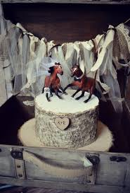 horse lover wedding cake topper thoroughbred race